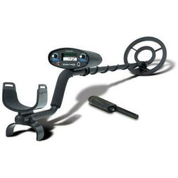 "Bounty Hunter Tracker IV Metal Detector, 8"" Open Face Coil"