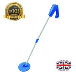 Altai Treasure Seeker Compact Metal Detector Blue Grey Beach