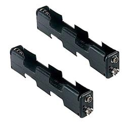 two aa battery holder
