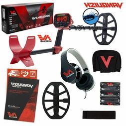 "Minelab VANQUISH 540 Metal Detector with V12 12"" x 9"" Waterp"