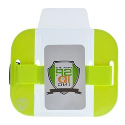 High Visibility- Bright Armband ID Badge Holders  - Secure T