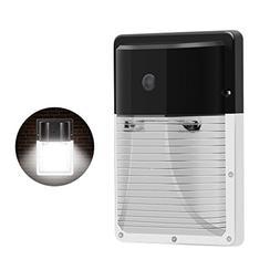 CINOTON 13W LED Wall Pack Light 1600lm,, 100-277Vac,100-200W
