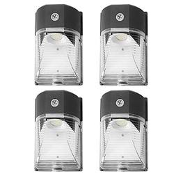 Cinoton LED Wall Pack Light,26W 3000lm 5000K , 100-277Vac,15