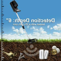 Waterproof Metal Detector 7.5'' Sensitive Search Gold Digger