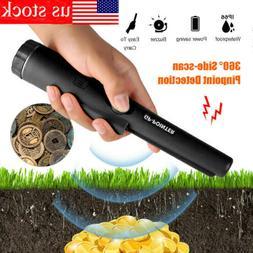 Waterproof Metal Detector Pro Pinpointer Gold Hunter Finder
