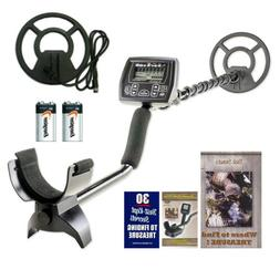 """White's Coinmaster with Waterproof 9"""" Spider Search Coil and"""