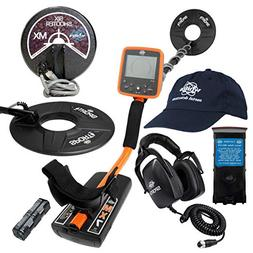 """Whites MX7 Detector Bundle, 6"""" Six Shooter Coil, Headphones,"""