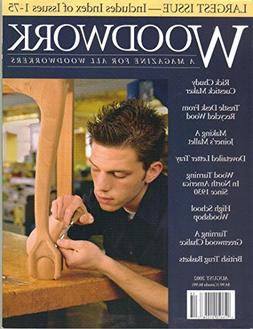 Woodwork : A magazine for All Woodworkers August 2002