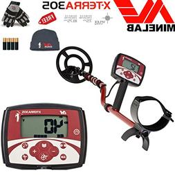 Minelab X-TERRA 305 Metal Detector Special Bundle with Minel