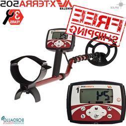 """Minelab X-Terra 505 Metal Detector 9"""" Coil, Waterproof"""
