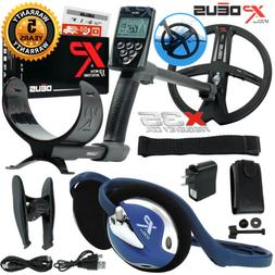 XP Deus Metal Detector with FX-02 Wired Backphone, Remote an