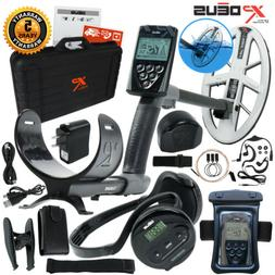 XP Deus Metal Detector w/ WS4 earphones, Remote, Hard Case &